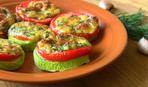 Запеченные кабачки с фаршем и помидорами: пошаговый рецепт