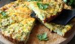 Блюдо дня: Фриттата с кабачками и творогом