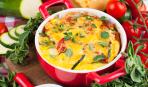 Быстрая запеканка из кабачков и томатов: пошаговый рецепт