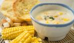 Сливочный суп с кукурузой