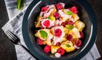 Ленивые вареники с ягодным соусом от Аниты Луценко