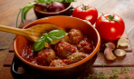 Мясные шарики в томатном соусе