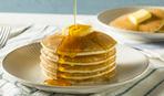 Панкейки с медом и маслом