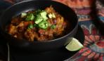 Тыквенный суп с чили и лаймом