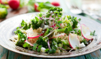 Топ-5 диетических салатов