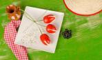 Как удивить любимую на 8 марта: тюльпаны - из помидоров