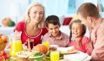 Семейные обеды хорошо влияют на фигуру