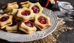 Печенье с клубничной начинкой