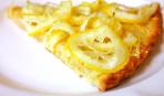 Лимонно-медовый тарт