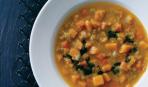 Суп с чечевицей и тыквой