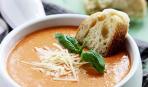 Томатный суп с базиликом