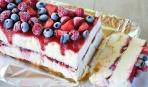 Замороженный торт из творога
