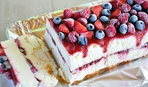 Замороженный торт с шоколадом и маскарпоне