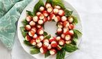 Праздничные закуски: «Новогодняя капрезе»