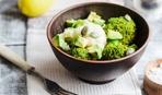 Салат с цветной капустой и авокадо