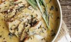 Свинина под соусом с розмарином и шалфеем