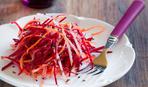 Морковный салат со свеклой