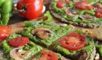 Пицца для постящихся и вегетарианцев