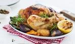Курица запеченная в травах по-провански