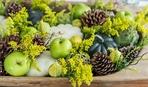 Яблочная осень: идеи для декора стола с использованием яблок