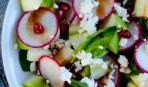 Салат зі шпинатом і яблуками: покроковий рецепт