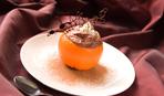 Шоколадный пудинг в апельсиновых креманках