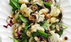 Салат с теплой цветной капустой
