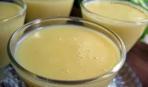 Грушевый крем со сливками
