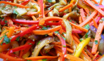 Зимние заготовки: болгарский перец по-корейски