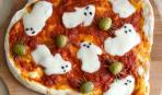 Идеи для Хэллоуина: пицца с привидениями