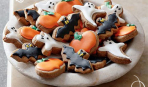 Идеи для украшения печенья к Хэллоуину
