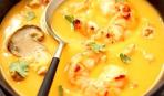 Тыквенный суп с приправой «Каджун»