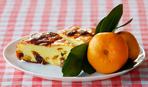 Творожно-апельсиновая запеканка