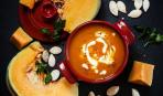 Тыквенный суп с грушей