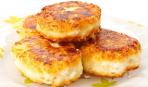Сырники с морской капустой
