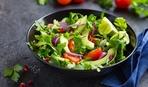 Полезный и вкусный салат из помидоров и авокадо