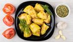 Запеченный картофель в горчичном соусе
