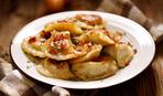 Блюдо дня: жаренные вареники с картошкой
