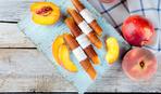 Необычный десерт: персиковая пастила со сливочным сыром