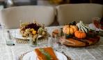 Осеннее оформление стола