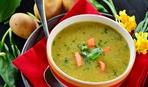 Суп из пастернака с чесноком и кешью