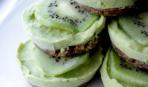 Замороженные тарты с лаймом и авокадо