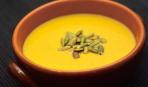 Тыквенный суп с яблоком