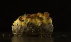 Закуска на праздничный стол: картофельные лодочки с начинкой