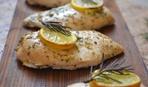 Куриные грудки с лимоном и травами