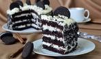 """Не сложный десерт с роскошным вкусом: шоколадный торт """"Орео"""""""