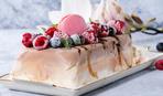 В жару самое то! Торт-мороженое Baked Alaska