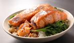 Рыба в соусе терияки с рисом