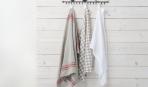 Кухонные полотенца - как новые: 4 простых секрета