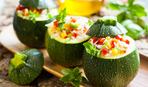 Зимние заготовки: кабачки с рисом и овощами